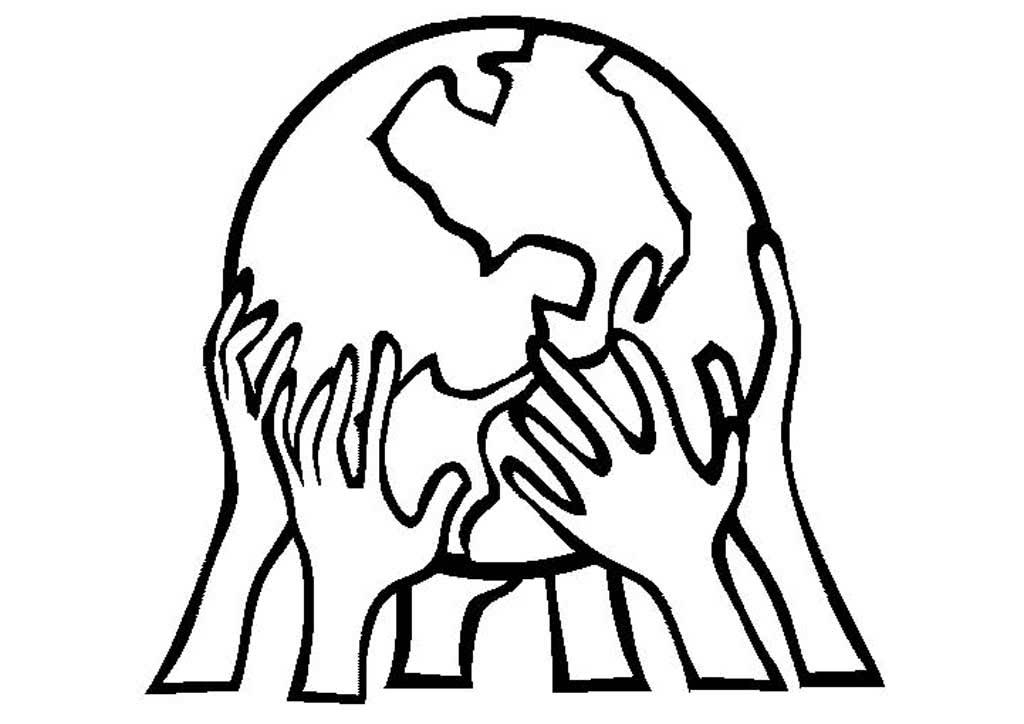 раскраска на тему мы за мир на планете вашему вниманию уморительную