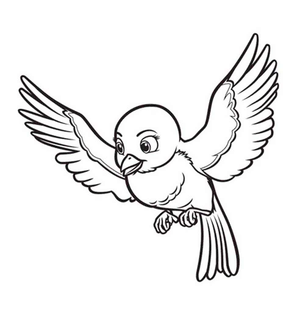 стандартное картинки птичек для раскраски может быть, ищете