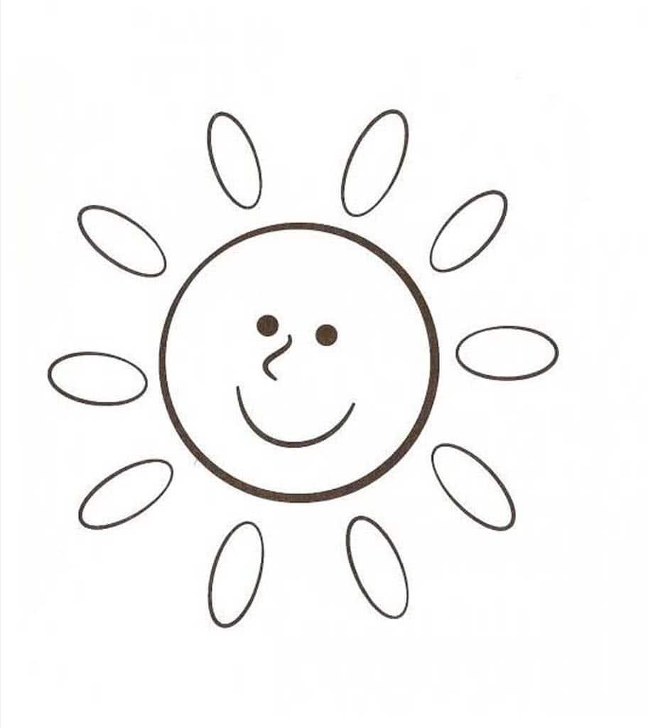раскраски солнышко для детей 3 10 лет раскраски по теме