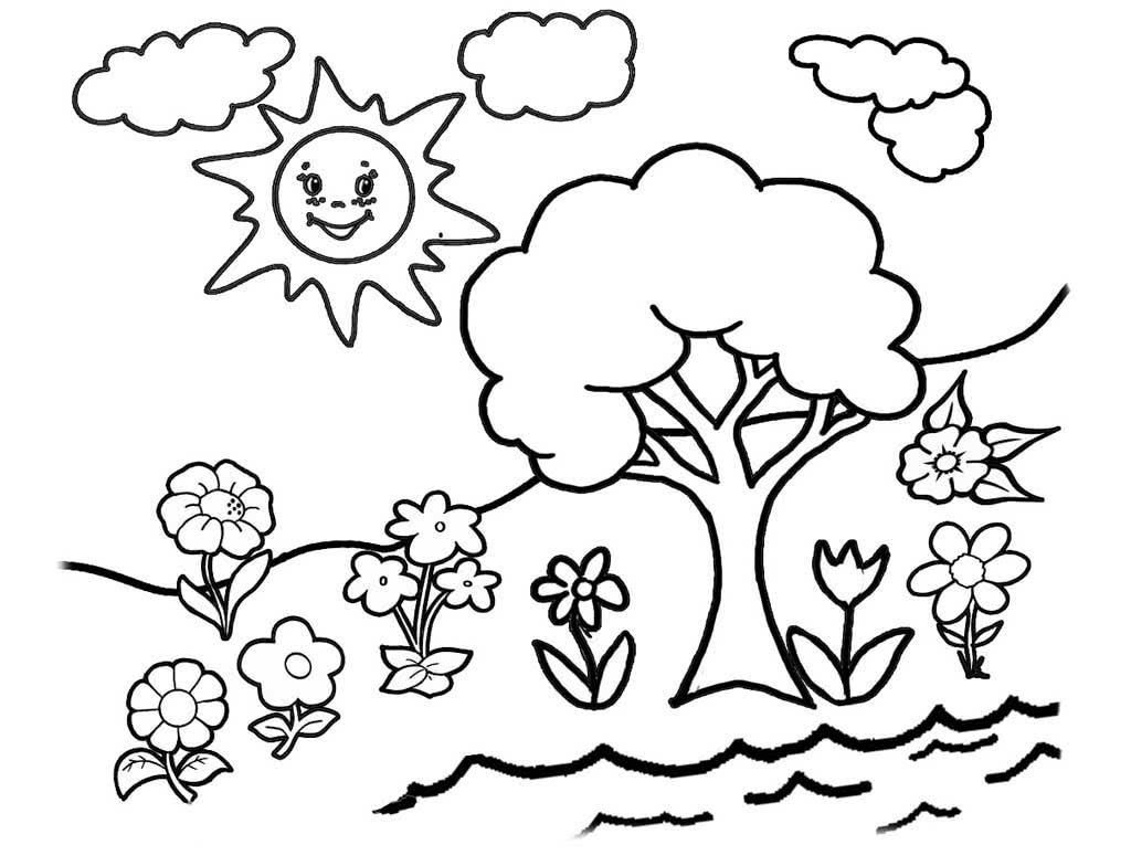 солнечный день рисунок карандашом может помочь возврат