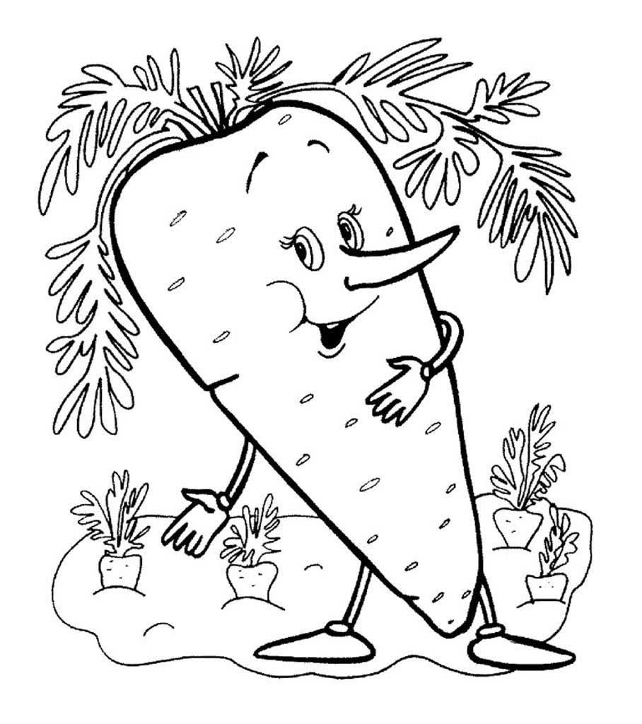 Смешные овощи и фрукты картинки для детей распечатать для раскраски, поздравлениями