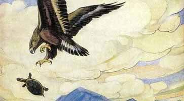 Черепаха и орел — аудио басня Толстого Л.Н.