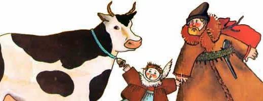 Дойная корова — аудио басня Толстого Л.Н.