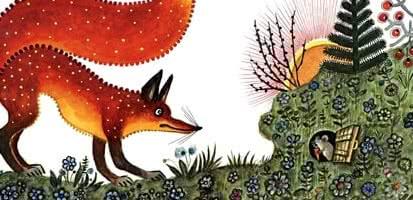 Лис и Мышонок — аудиосказка Бианки В.В.