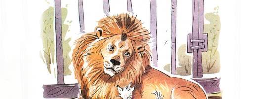Лев и собачка — аудио рассказ Толстого Л.Н.