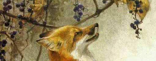 Лисица и виноград — аудио басня Толстого Л.Н.
