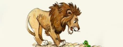 Лягушка и лев — аудио басня Толстого Л.Н.