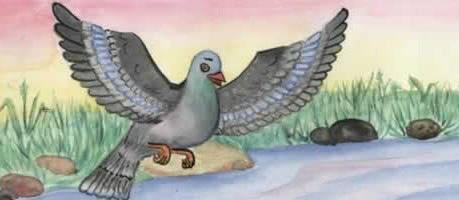 Муравей и голубка — аудио басня Толстого Л.Н.