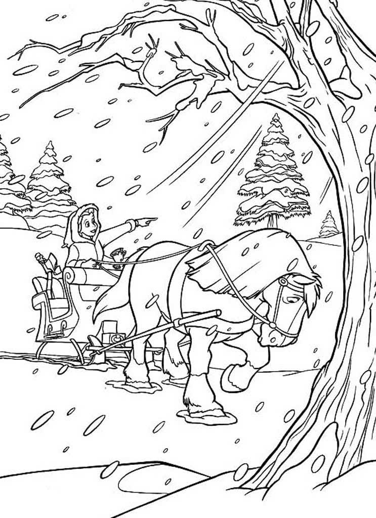 образом, картинка зимнее утро пушкин раскраска нового сида