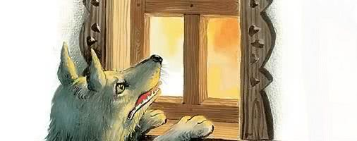 Волк и старуха — аудио басня Толстого Л.Н.
