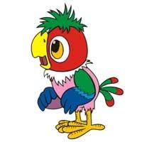 Раскраска Возвращение блудного попугая