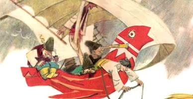Летучий корабль — украинская народная сказка