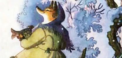 Лисичка-сестричка и волк-панибрат — украинская народная сказка