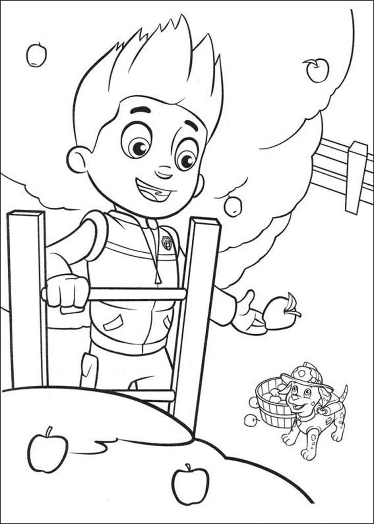 Урок рисование для детей онлайн щенячий патруль