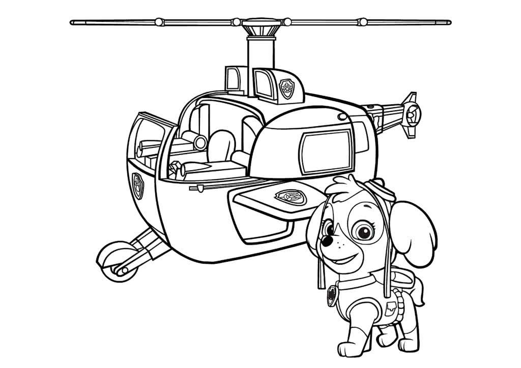 Картинки щенячий патруль раскраски база