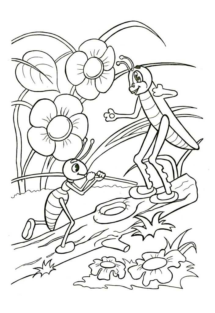 раскраски под грибом раскраски из сказки в сутеева про