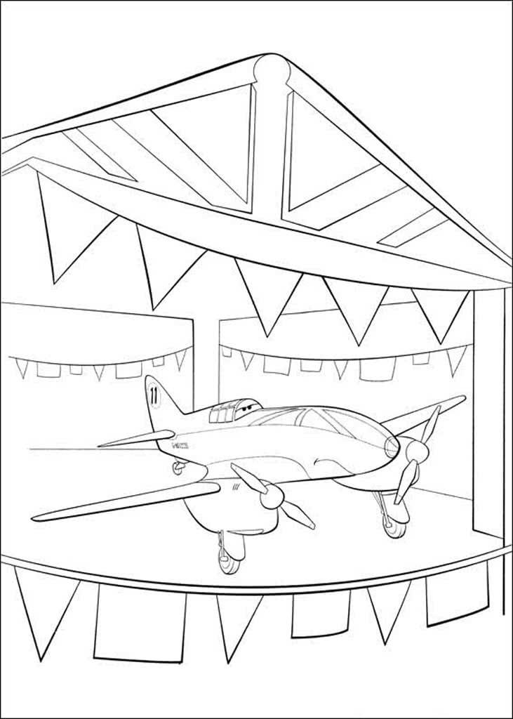 Раскраски Самолеты. Раскраски из мультсериала про самолеты.