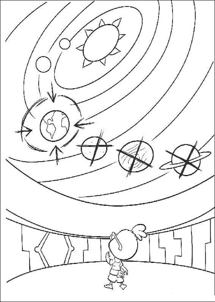 solar system coloring pages - 567×794
