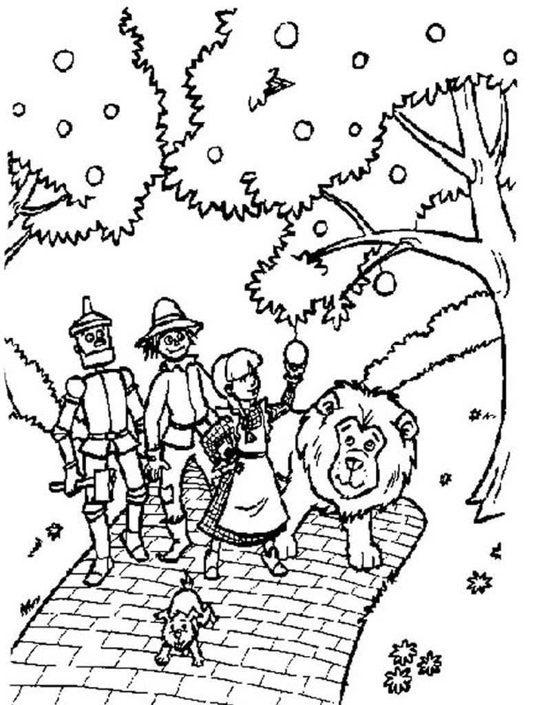 рисунок людоеда из сказки волшебник изумрудного города карандашом простой добавляю