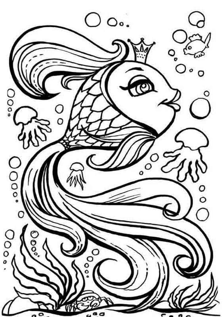 раскраски золотая рыбка раскраски из сказки пушкина