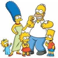 Раскраски Симпсоны
