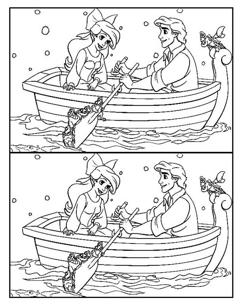 Найди отличия на двух картинках барби