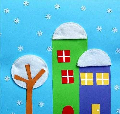 Зимние поделки для детского садика
