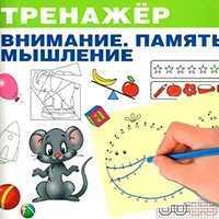 Внимание, память, мышление для детей 6-7 лет