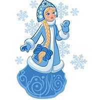 Раскраски Снежинки