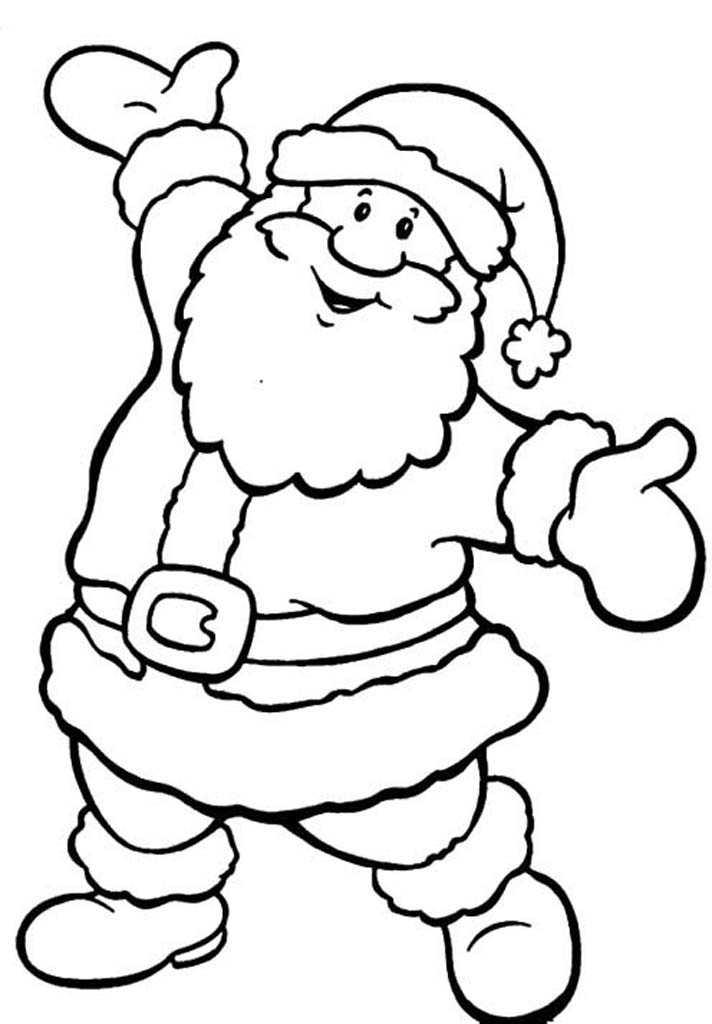 Санта клаус открытка шаблон, новый
