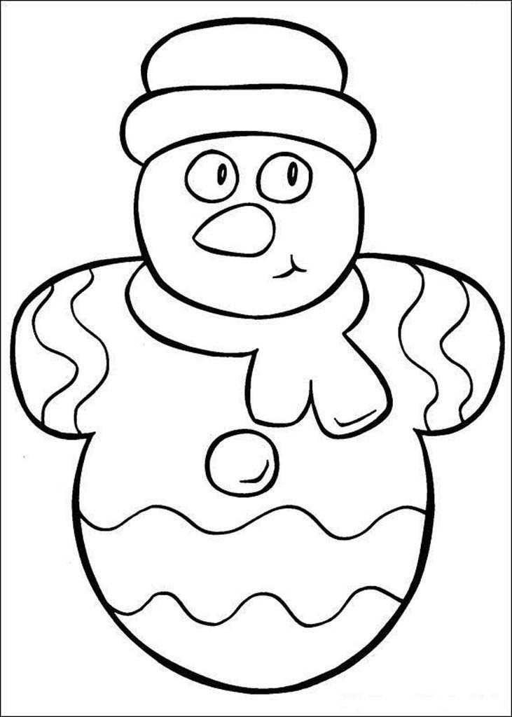 Раскраски Новогодние для малышей