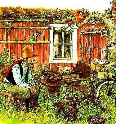 Петсон и Финдус: История о том, как Финдус потерялся, когда был маленьким — Нурдквист С.
