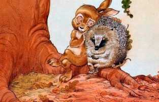Про Ёжика и Кролика: Кусочек зимы - Стюарт П. и Риддел К.