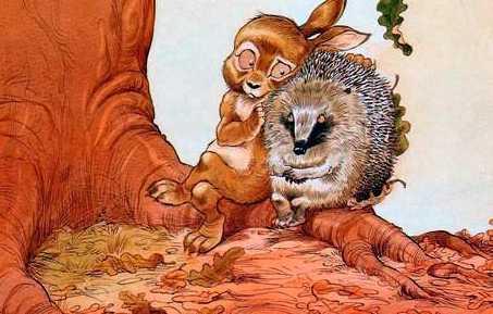 Про Ёжика и Кролика: Кусочек зимы — Стюарт П. и Риддел К.