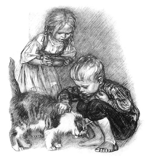 Котенок - Толстой Л.Н.