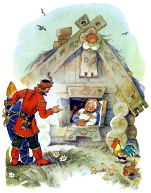 Деревянный орел — русская народная сказка