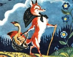 Лисичка со скалочкой - русская народная сказка