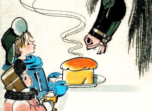 Теплый хлеб — Паустовский К.
