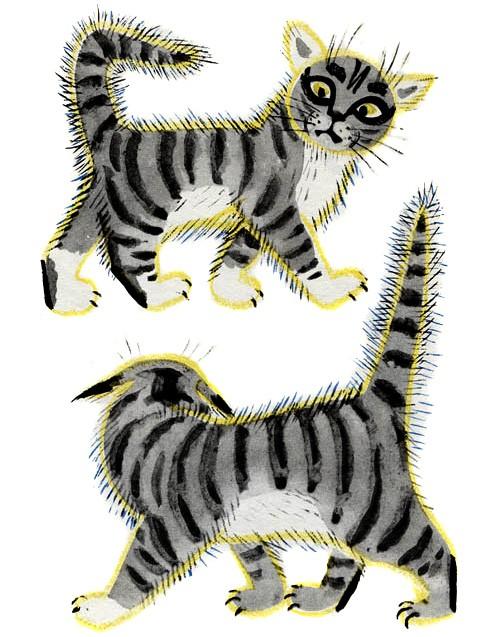 Два кота — Маршак С.Я.