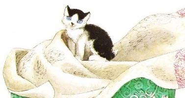 Отчего кошку назвали кошкой – Маршак С.Я.