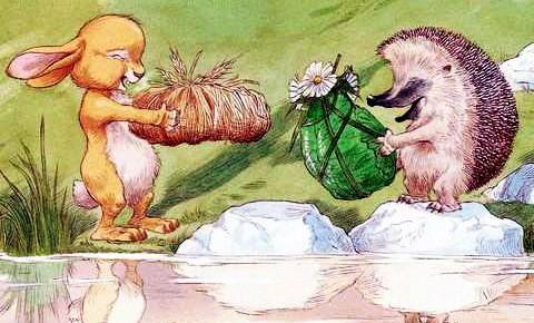 Про Ёжика и Кролика: Подарки в день рождения — аудиосказка П.Стюарта