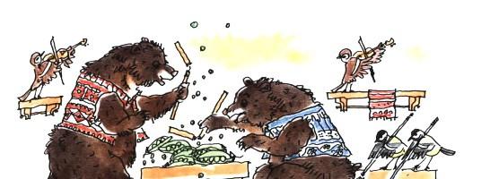 Два медведя – Маршак С.