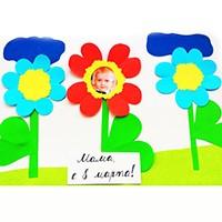 Поделки к 8 Марта в садик