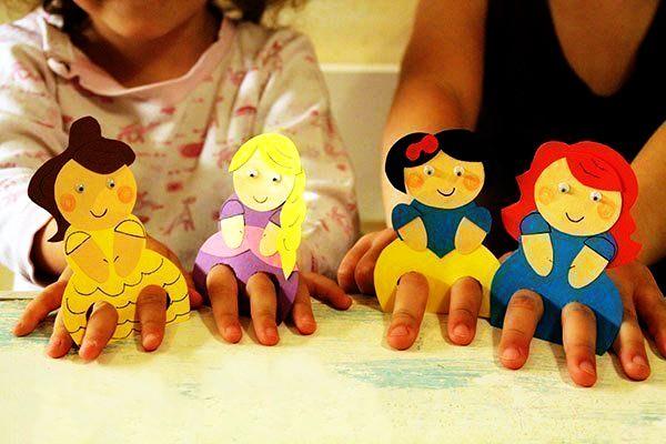 """Пальчиковые куклы """"Сказки"""""""