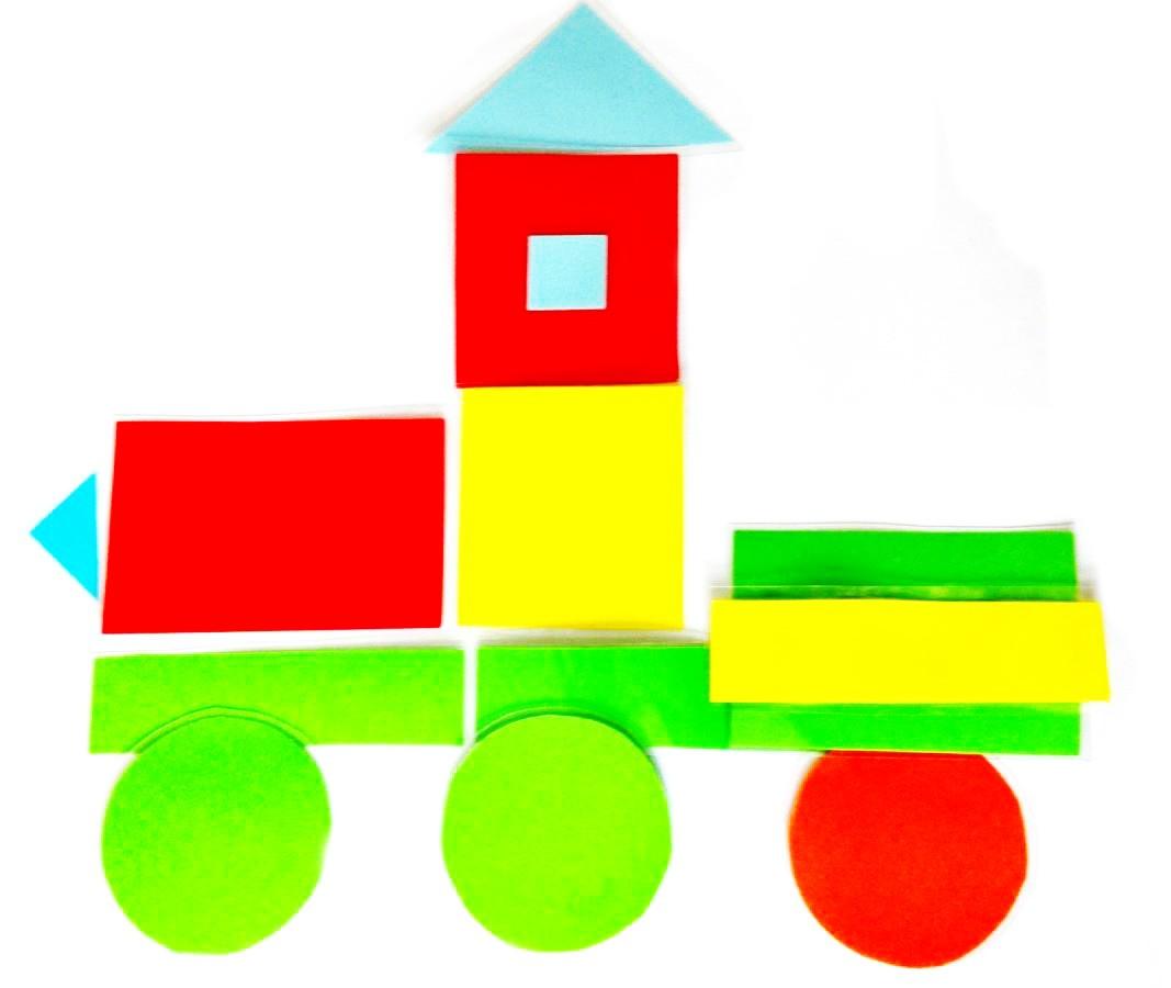 Многоразовая аппликация для малышей