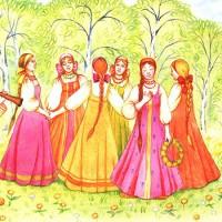 Было у матушки двенадцать дочерей - русская народная песня