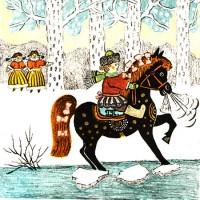 Как на тоненький ледок - русская народная песня