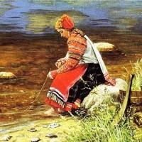 Как пойду я на быструю речку - русская народная песня