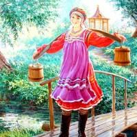Пошла млада за водой - русская народная песня