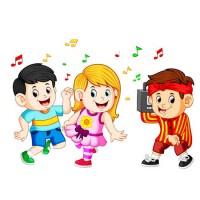 The come and dance song - обучающая английская песня